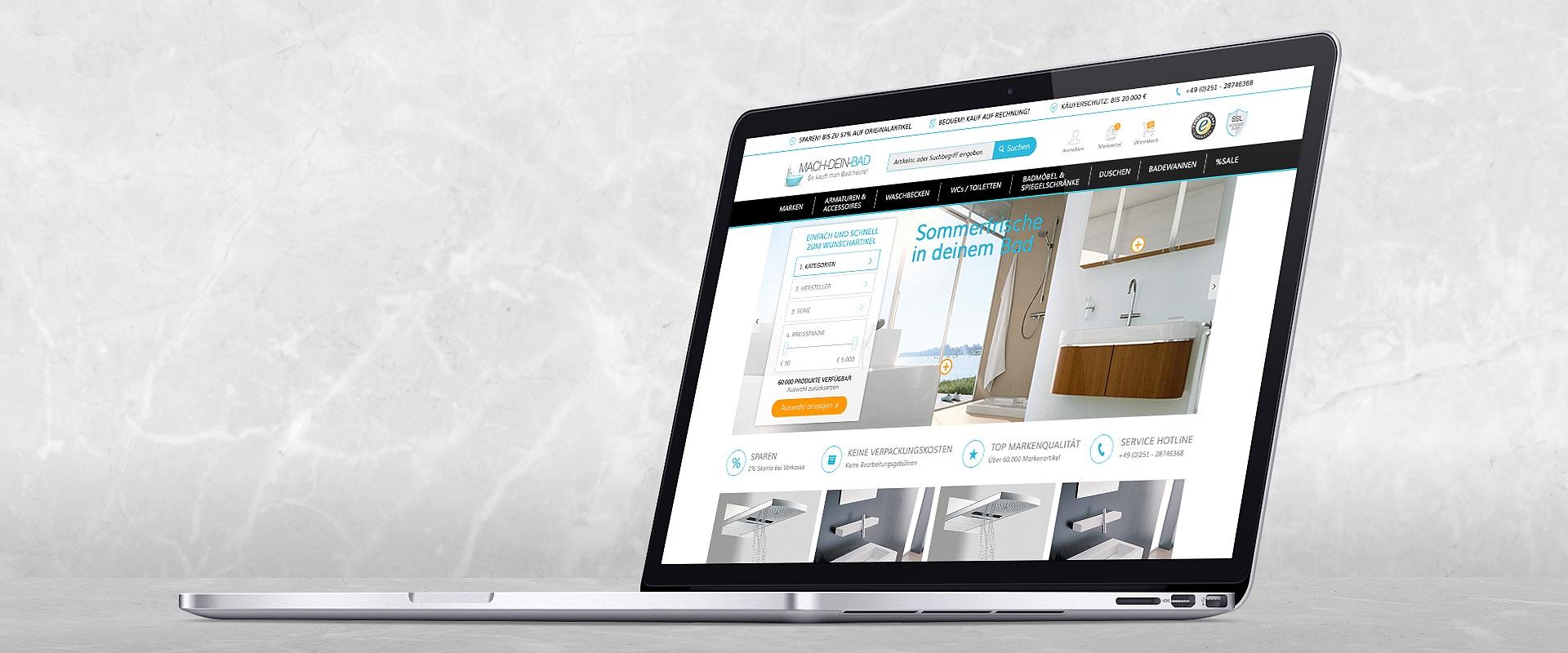 Shopware Onlineshop Entwicklung Mach Dein Badde E Commerce