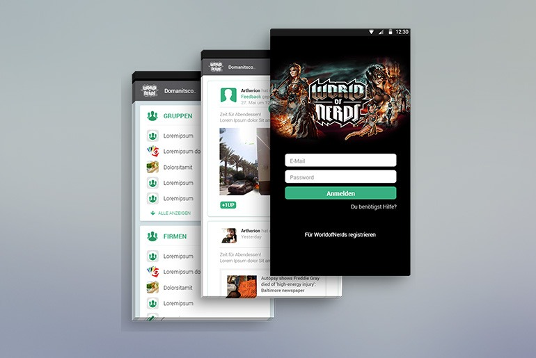 Neue App für Gamer-Community WorldOfNerds.com