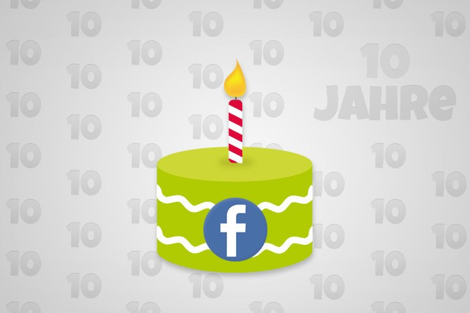 Happy Birthday: 10 Jahre Facebook [Infografik]