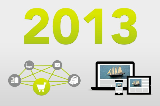 E-Commerce Trends 2013: Cross-Channel Commerce & Responsive Webdesign