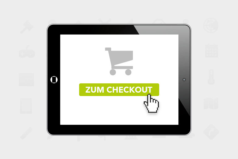 E-Commerce: Checkout-Prozesse deutscher Onlineshops [INFOGRAFIK]